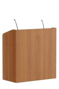 De FDX1 is een moderne Front Desk. Te gebruiken als spreekgestoelte in auditoria of als balie op de receptie. Leverbaar als maître d'station voor in de horeca.  Der FDX1 ist ein modernes Rezeption Möbel. Zu verwenden als Podium in Auditorien oder an der Rezeption. Erhältlich als Maitre d'Station für die Hotelindustrie.   The FDX1 is a modern Front Desk. Can be used as lectern in auditorium or as reception desk. Available as maitre d station for hospitality industry.